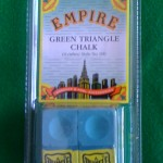 EMPIRE GREEN TRIANGLE CHALK: