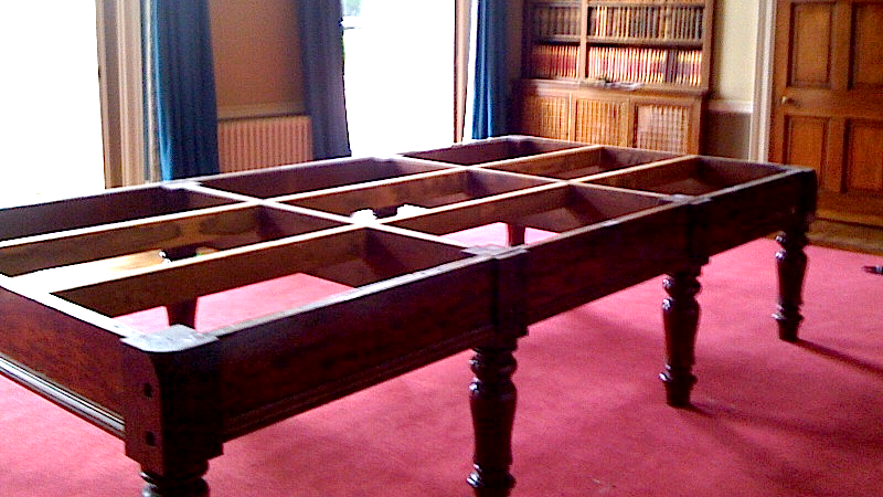 Snooker Table Dismantle And Move County Leisure - Dismantle pool table